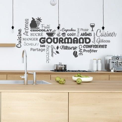 Stickers Muraux Cuisine Sticker Texte Theme Culinaire Et Cuisine