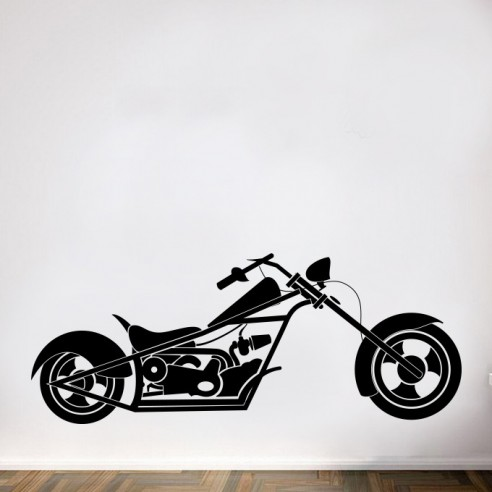 Sticker moto biker