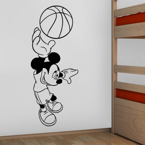 Sticker Mickey Basket