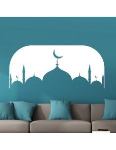 Sticker déco eid mubarak