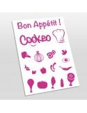 planche de stickers pour Cookeo
