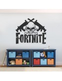 Sticker Fortnite tête de mort