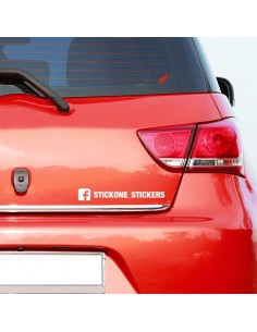 Sticker follow Facebook
