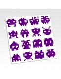 Stickers translucides pixel art
