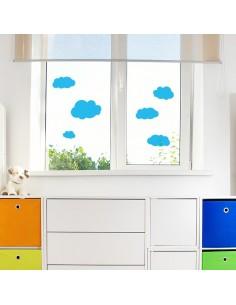 Stickers nuages translucides