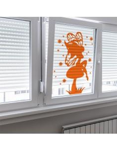 Sticker fée magique transparent