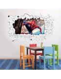 Sticker 3D spiderman