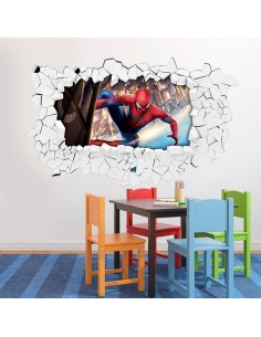 Sticker 3D spiderman