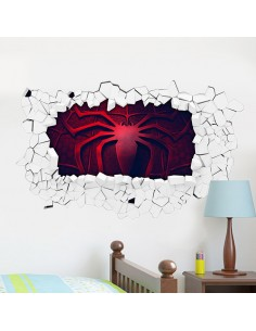 Sticker 3D logo spiderman
