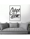 Sticker mural carpe diem