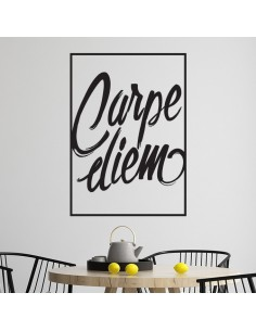 Sticker mural carpe diem