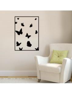 Sticker mural papillons