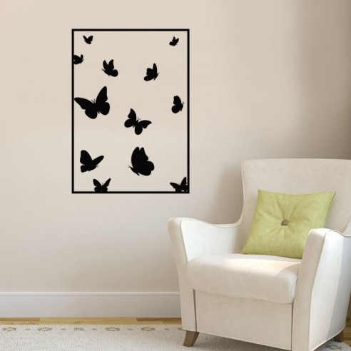 Stickers Muraux Pas Cher.Sticker Mural Papillons Decoration Murale Stickers Muraux Pas Cher