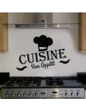 Sticker cuisine bon appétit