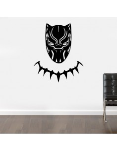 Sticker black panther