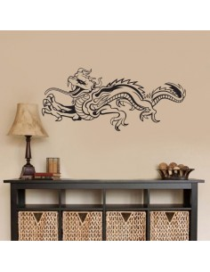 Sticker mural dragon