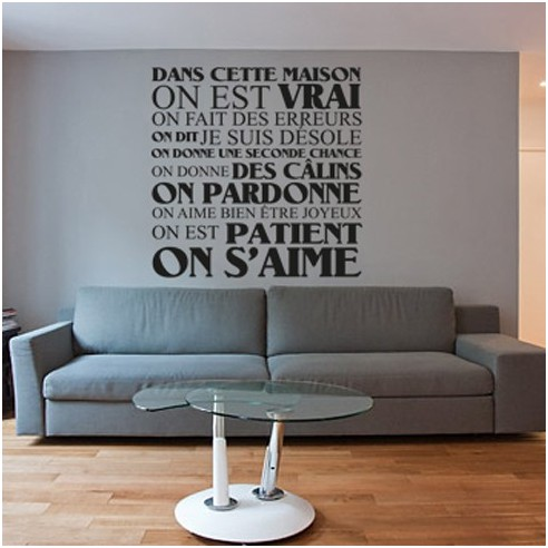 dans cette maison stickone. Black Bedroom Furniture Sets. Home Design Ideas