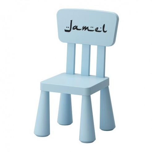 Sticker chaise enfant