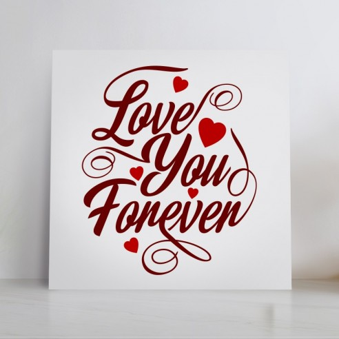 Tableau love you forever