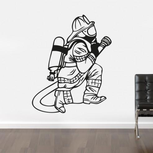 stickers sapeur pompier