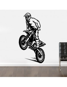 Sticker willing moto cross