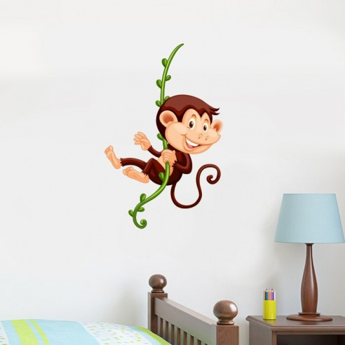 Sticker petit singe