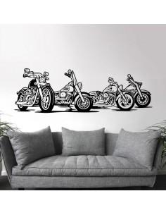 Sticker biker moto choppers