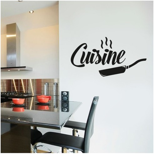 Stickers d co cuisine original - Stickers pour cuisine decoration ...