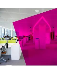 Adhésif transparent Rose / Pink