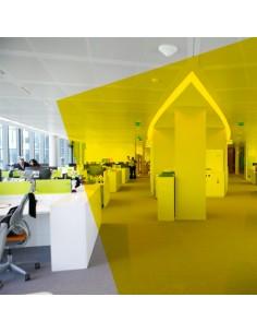 Adhésif transparent jaune