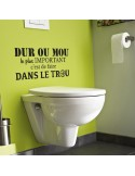 stickers toilette citation
