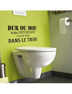 Citation toilette