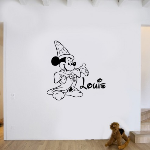 Stickers Mickey magicien
