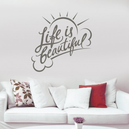 stickers Life is beautyful