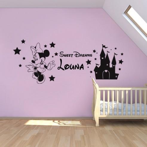 Stickers personnalisé Minnie