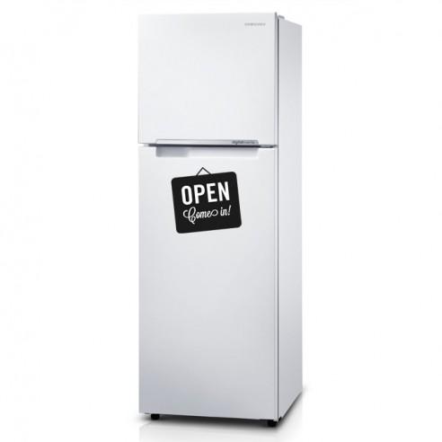 Stickers frigo panneau open