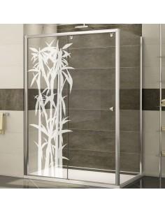 sticker Bambou paroi de douche