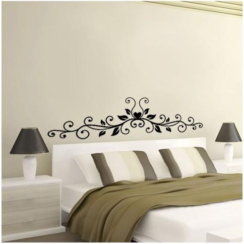Floral tête de lit