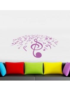 Stickers notes de musique