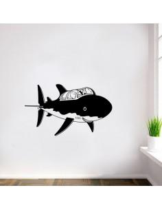 Tintin sous marin
