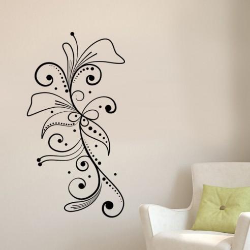 Stickers floral design
