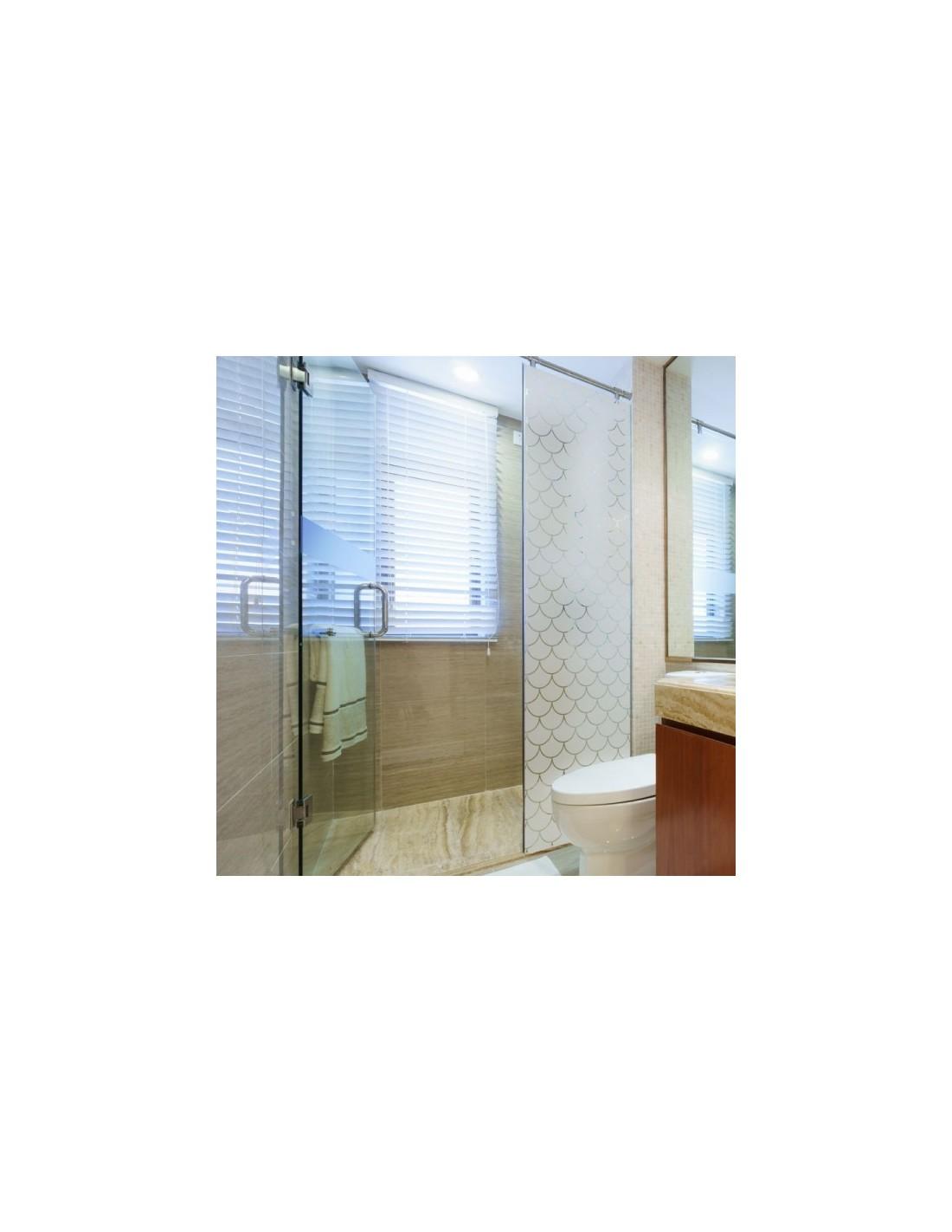 Latest film design vitre with adhesif pour paroi douche - Carrelage adhesif douche ...