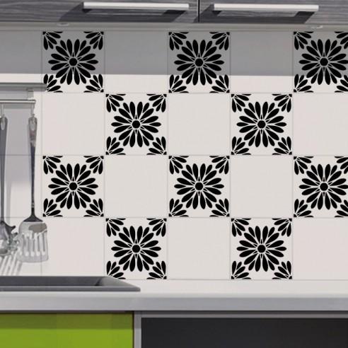 Stickers décoration pour carrelage
