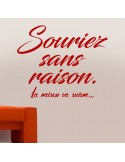 Stickers muraux citation motivation