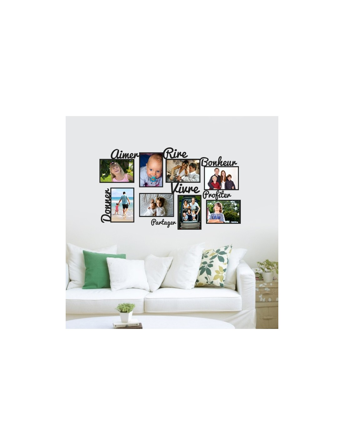 stickers cadre photo my blog. Black Bedroom Furniture Sets. Home Design Ideas