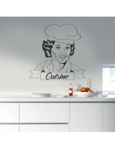 Sticker déco cuisine