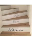 Stickers contremarche escalier