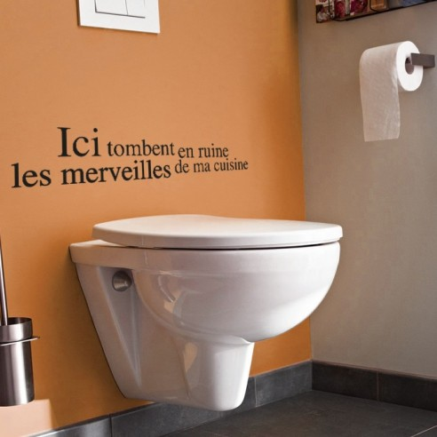 stickers citation toilettes