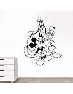 Sticker Mickey, Donald et Pluto