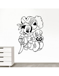 Sticker Mickey pirate